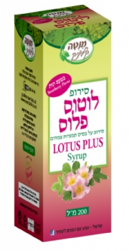 Lotus  plus  syrup